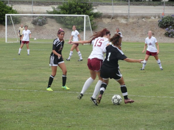 Lady Knights fight for lead in season opener