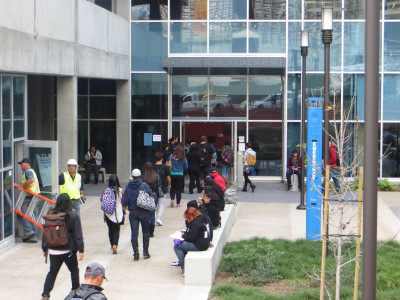 Math and Social Sciences building opens