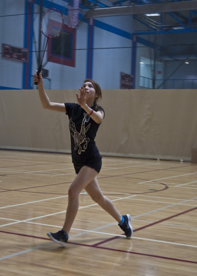 City College badminton defending its title