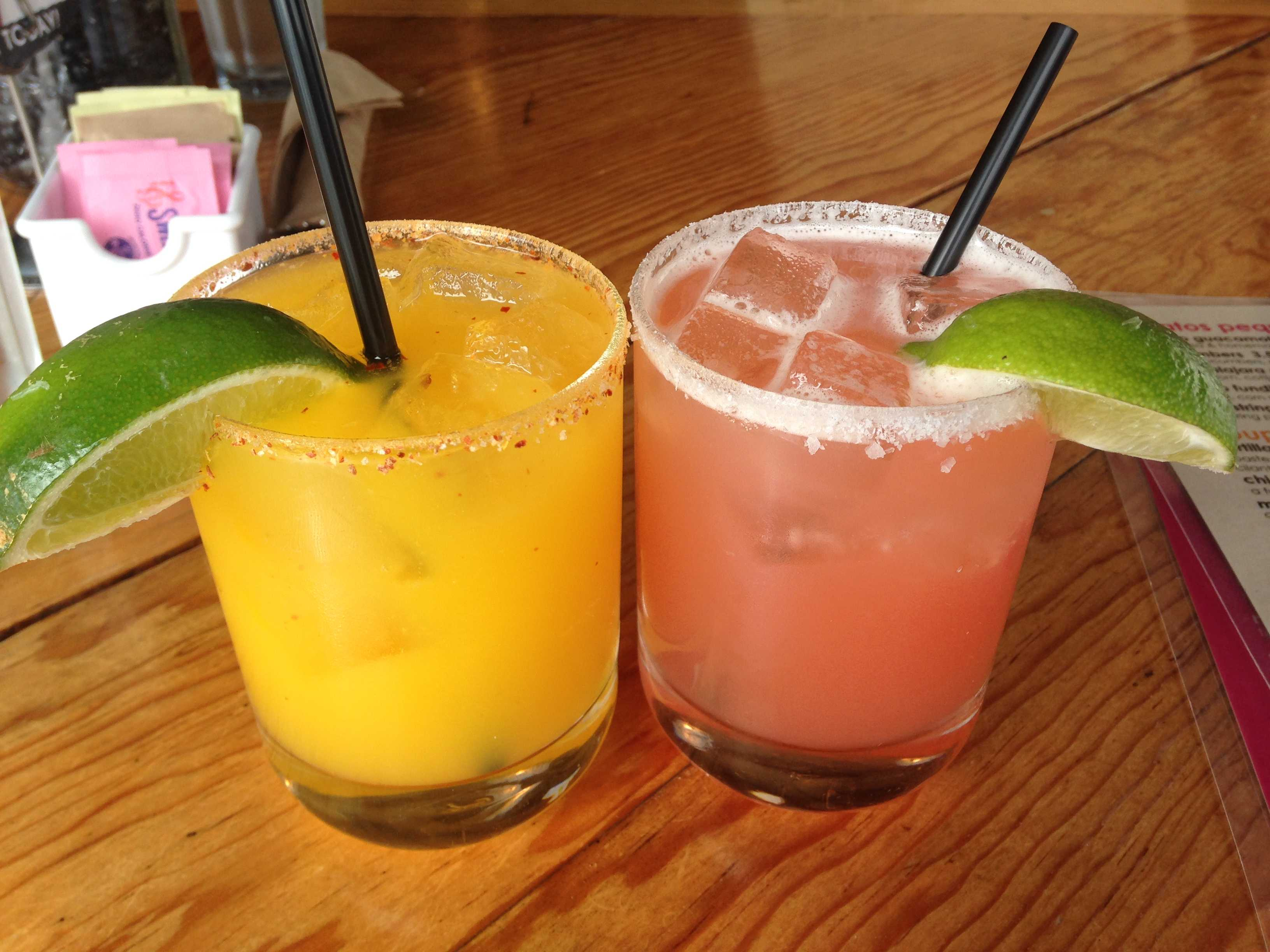 Barrio Star in Banker's Hill offers a variety of margaritas at fair prices. Photo credit: Michelle Moran