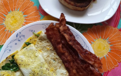 Knight Bites: Breakfast, over-easy
