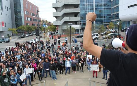 Students stage walkout in protest in wake of Michael Brown grand jury decision