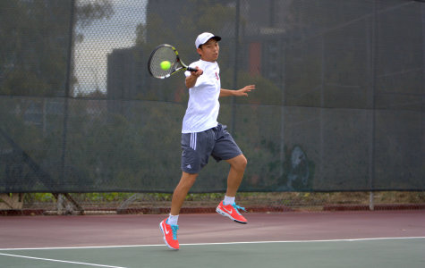 Eiffel state of mind: Sophomore Tennis player David Lin selected to receive 3C4A Achievement Award