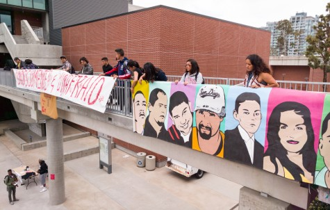 Students protest Border Patrol's possible campus visit