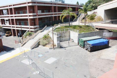 Fall classes begin amid new construction
