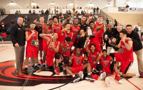 Knights men's basketball team ends charmed season with state championship win