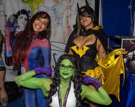 City College students work Comic Con 2017