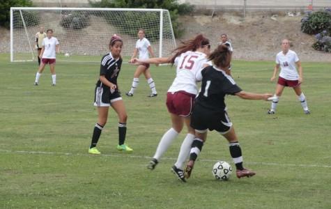 Lady Knights fight for lead in season opener