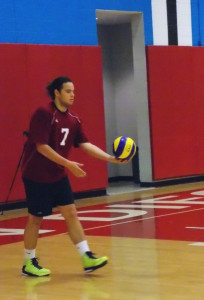 Three volleyball players reportedly suspended