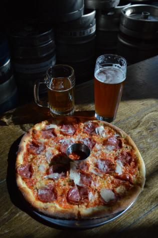 Pizza and brew from the Blind Lady to you