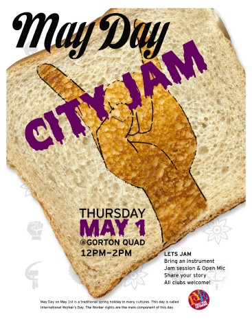 City set to share music and poetry for May Day