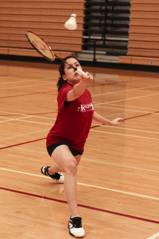 Women's badminton shuttles to victory