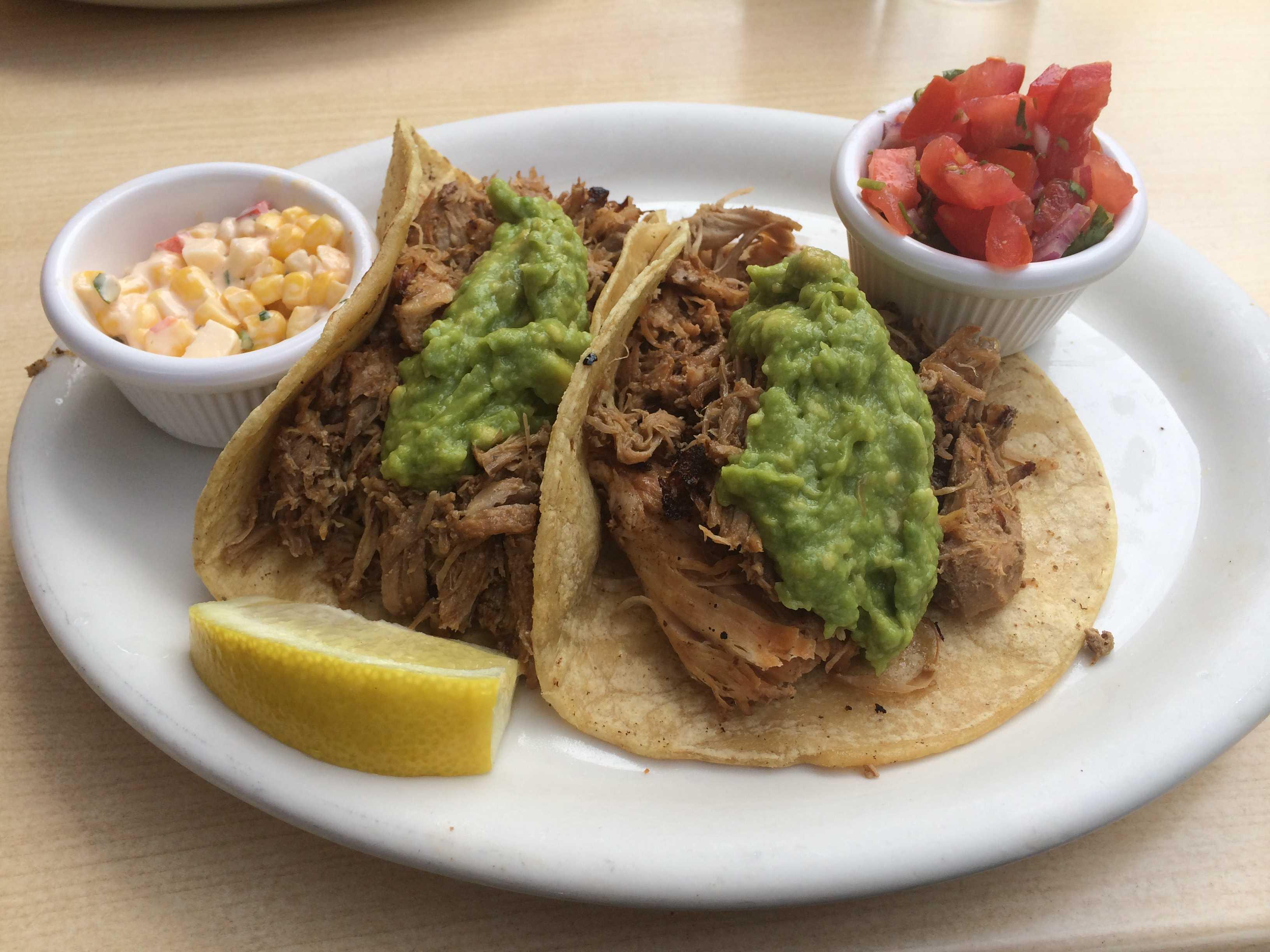 Canitas tacos at Carnitas Snack Shack Photo credit: Michelle Moran