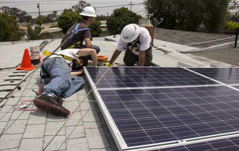 Solar students get hands-on learning and provide service to community
