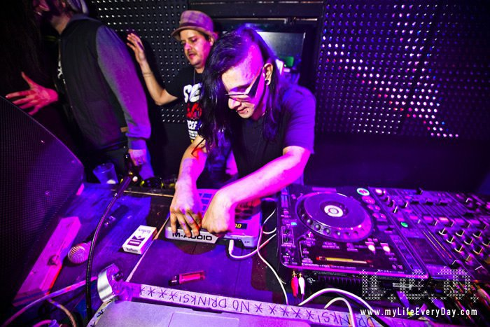Skrillex - Official Facebook Photo
