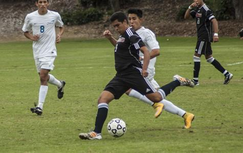 Knights and Spartans battle on the soccer field