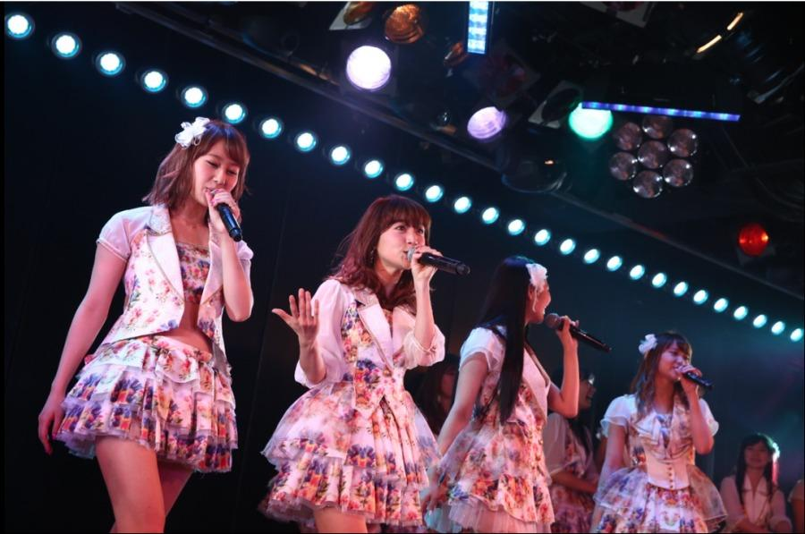 AKB48%27s+Team+K+during+the+final+performance+of+the+2014+revival+of+their+fourth+stage+show+%E2%80%9CSaishuu+Bell+ga+naru%E2%80%9D+in+the+AKB48+Theatre+in+Akihabara%2C+Tokyo+on+April+16.+AKS%2C+Courtesy+photo.
