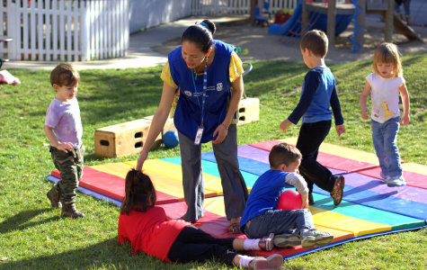 A Helping hand: Multifaceted Child Development Center provides learning experience for student-parents and children