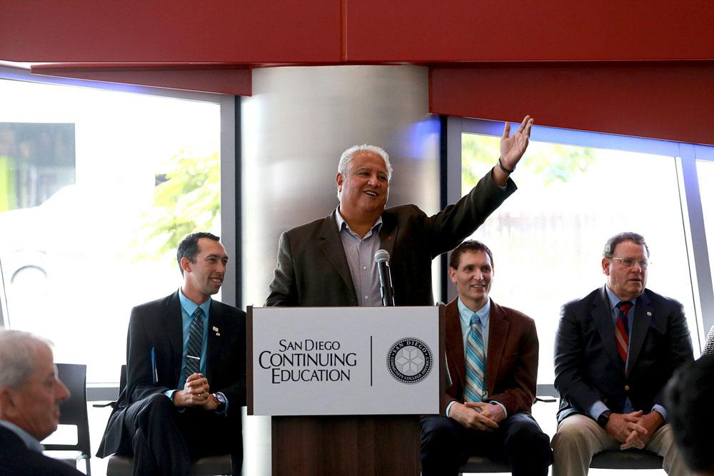 New César Chávez campus celebrates grand opening