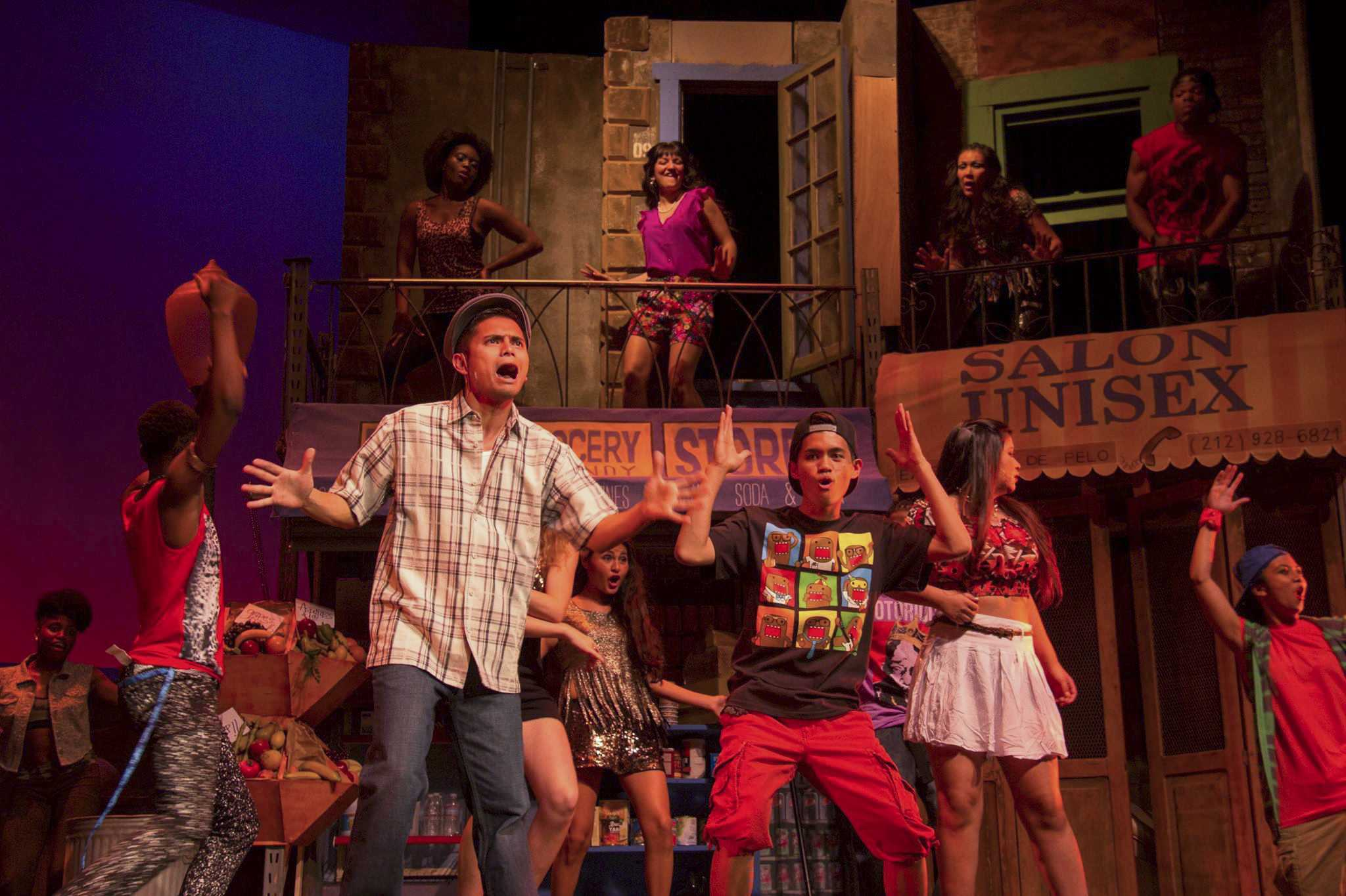 "For the spring 2014 musical, the San Diego City College theater department decided on the  hip hop and Latin influenced ""In the Heights,"" set Washington Heights, New York. Photo credit: Celia Jimenez"