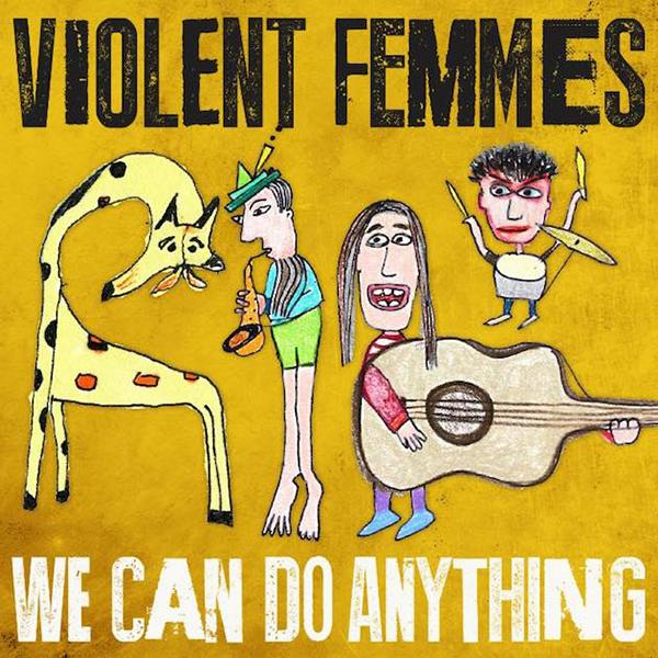 The band Violent Femmes gcomes back to life with their new album