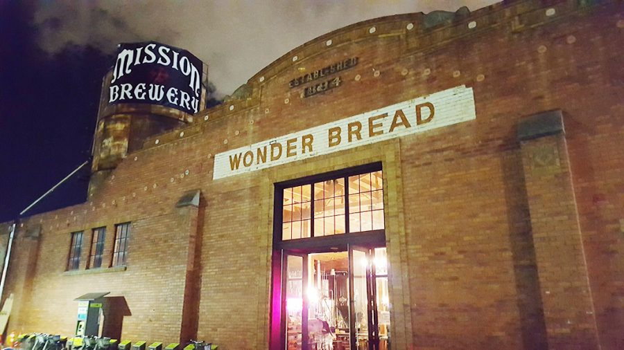 Mission+Brewery+has+its+manufacturing+and+tasting+room+at+the+historic+Wonder+Bread+Building+next+to+Petco+Park.+Photo+Credit%3A+Ricardo+Soltero.