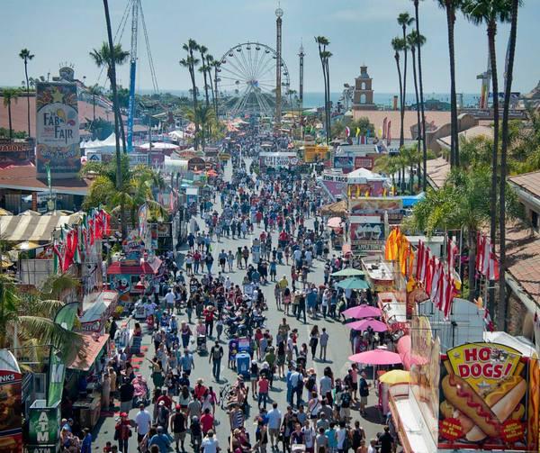 The San Diego County Fair runs through July 4.   Courtesy photo of the fair. Photo credit: Dave Gatley