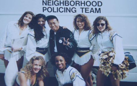 The Big Ass Bus, Jammin' Z90, San Diego, Jamming, 1980s 1990s. Old School, Hip Hop R&B, Rap Music, Monchai Pungaew, San Diego Charger Cheerleaders