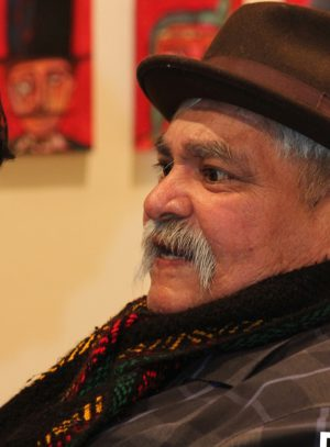 Ramon Chunky Sanchez, HeART of Loteria, 2013, San Diego, City College, Mike Madriaga, Ruben Torres