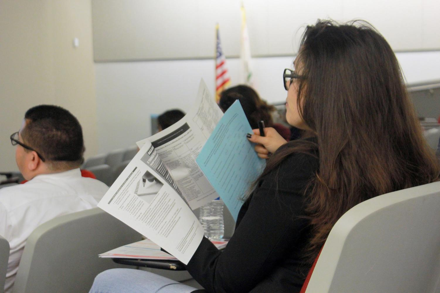 San Diego City College Student Services Council sponsored a How to Support Undocumented Students Workshop on Oct. 19.