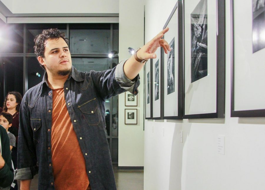 Photography+student+and+exhibition+curator+Hector+Valdivia+explains+his+process+in+creating+five+prints+for+the%0Anew+show+in+the+Luxe+Gallery+at+San+Diego+City+College%2C+Nov.+9.