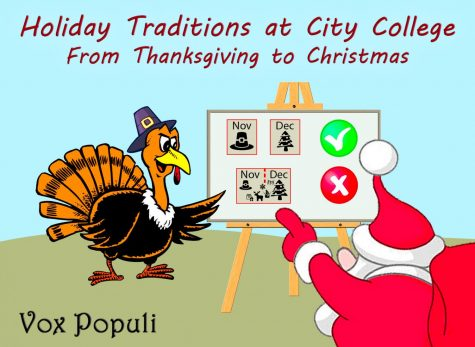 City College students and staff share their holiday traditions