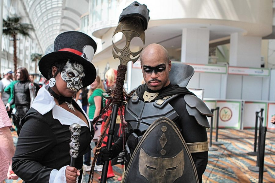 Doctor+Facilier+and+Black+Panther+from+Cosplay+at+Long+Beach+Comic+Expo+2014.+Black+fans+exist+and+Hollywood+should+be+courting+that+audience+as+much+as+they+cater+to+other+audiences.+Photo+courtesy+of+Flickr