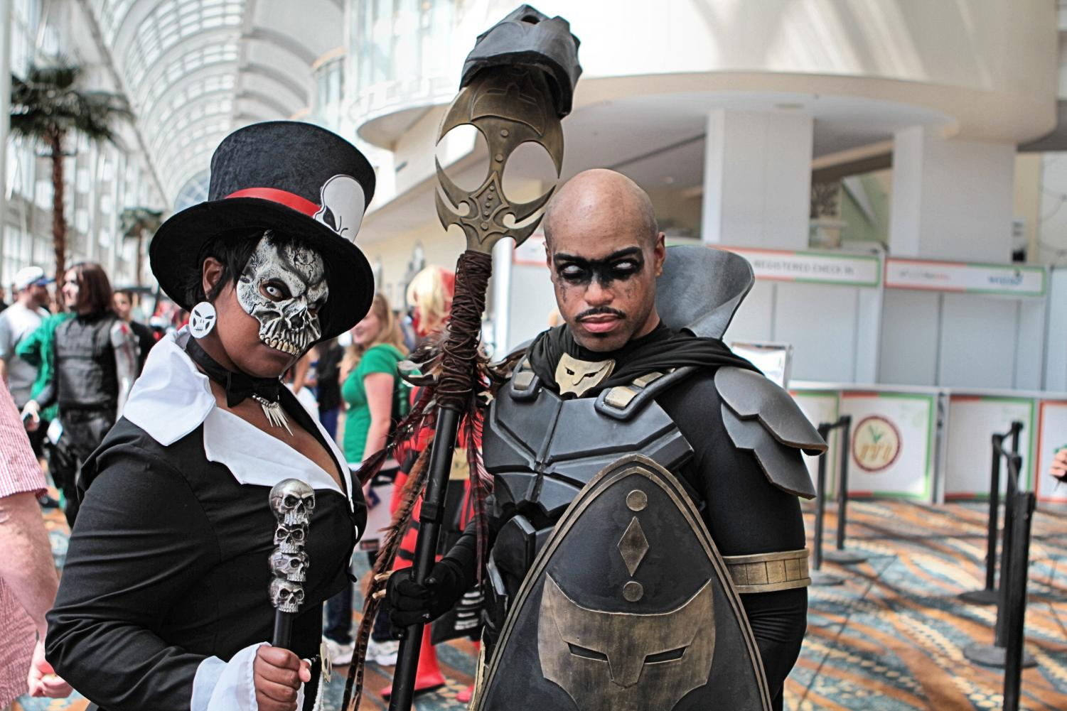 Doctor Facilier and Black Panther from Cosplay at Long Beach Comic Expo 2014. Black fans exist and Hollywood should be courting that audience as much as they cater to other audiences. Photo courtesy of Flickr