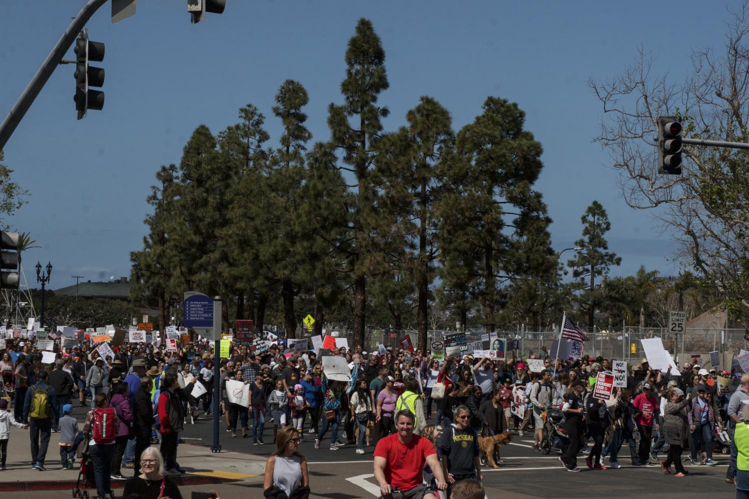Thousands+attended+the+March+for+Our+Lives+San+Diego+on+March+24+to+demand+gun+legislation+reform.+By+Shaylyn+Martos%2F+City+Times