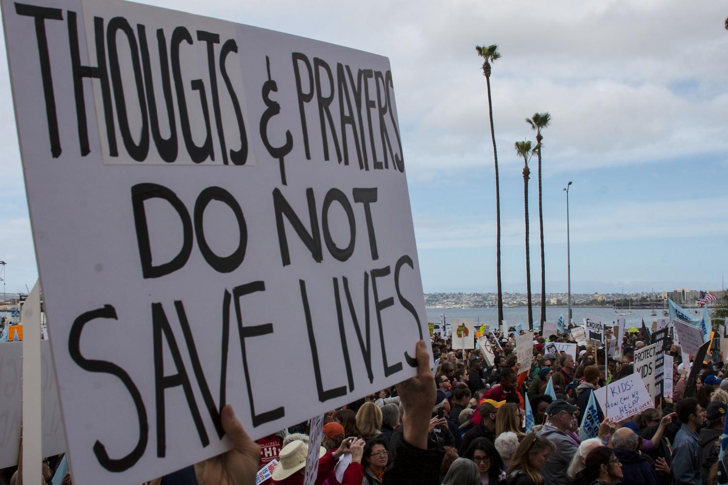 Thousands+attended+the+March+for+Our+Lives+San+Diego+which+began+at+Waterfront+Park+in+downtown+to+demand+legislation+to+protect+students+from+gun+violence.+By+Shaylyn+Martos%2F+City+Times