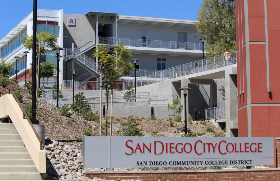Signs of life at new City College buildings