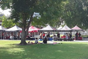 City College's Mental Health Counseling held its annual Suicide Prevention Fair on Sept. 26. Photo by Jesse Altilio.