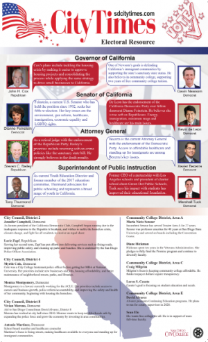 City Times 2018 Midterm Election Insert