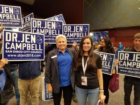 Dr. Jen Cambell at Golden Hall