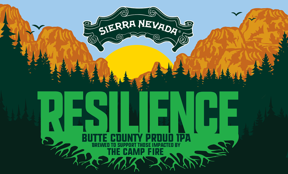 Resilience IPA will be brewed to benefit Camp Fire victims. Sierra Nevada courtesy photo