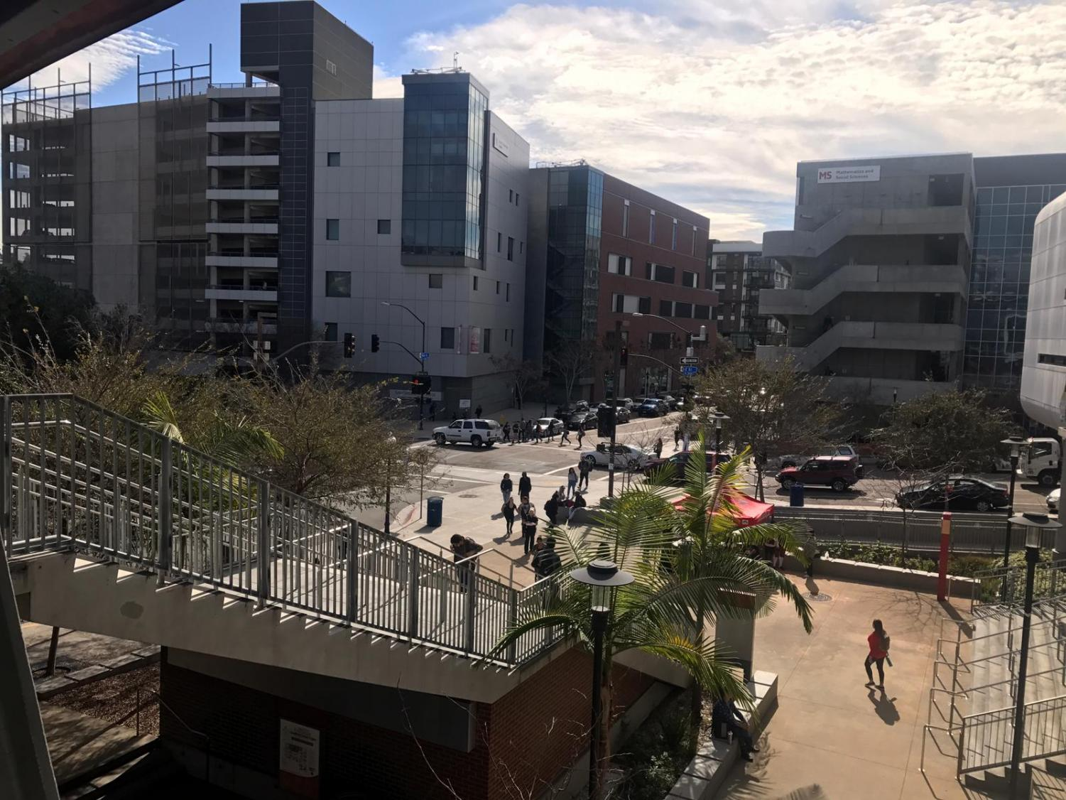 School is back in session at San Diego City College and the rest of the San Diego Community College District schools, which expect approximately 64,000 students for the spring 2018 term. Jonny Rico, City Times