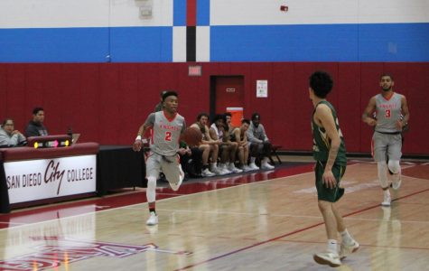 Playoff spot in jeopardy for City College men's basketball