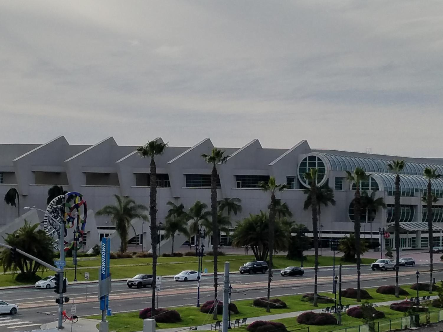 The San Diego Convention Center will host the 2019 City College graduation ceremony. By Brian Mohler/ City Times