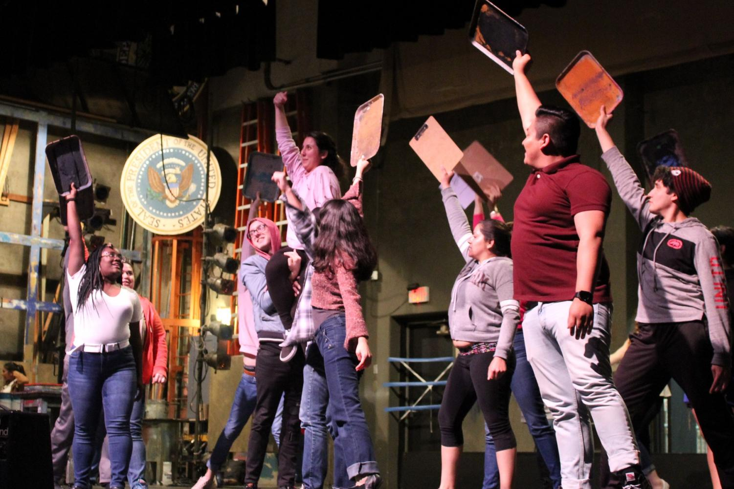 San Diego City College drama department prepares for this semester's production. By Jonny Rico/City Times
