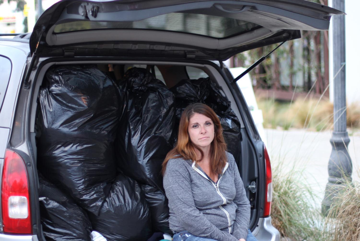 City College student Lola Cheatham had to live with her daughters out of their vehicle for several years. By Jonny Rico/City Times