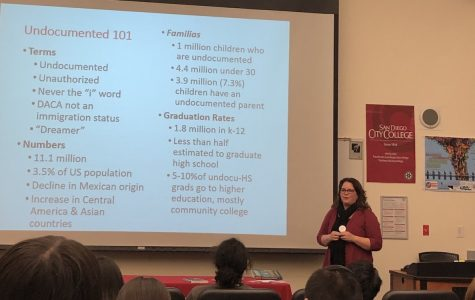 Author brings views on the struggles of undocumented Latinos to City College