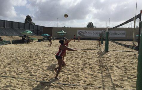 City College beach volleyball splits games in El Cajon