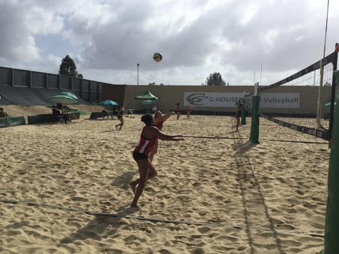 City College beach volleyball splits games in El Cajon