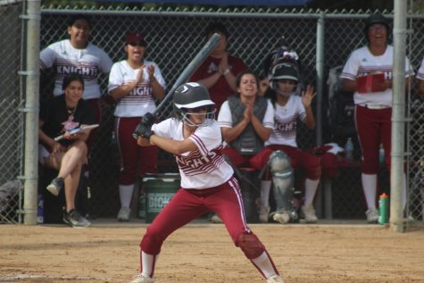 Vanessa Tirado at bat.